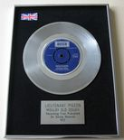 LIEUTENANT PIGEON - MOULDY OLD DOUGH PLATINUM single presentation DISC